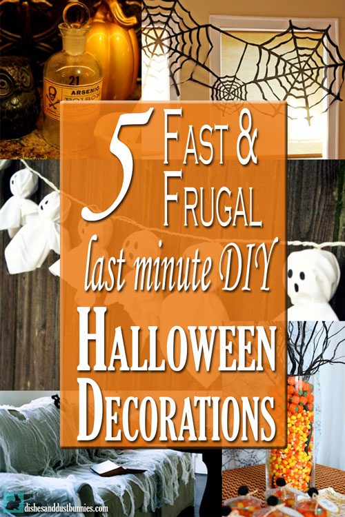5 fast frugal last minute diy halloween decorations for 5 minute halloween decorations