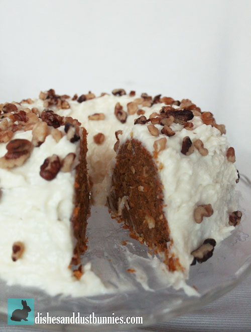 Pumpkin Pie Coconut Carrot Cake