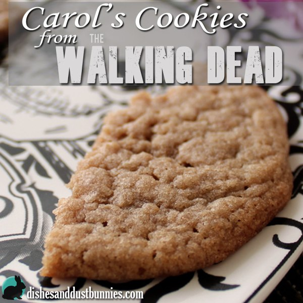 Make Carol's Cookies from The Walking Dead!  #CarolsCookies