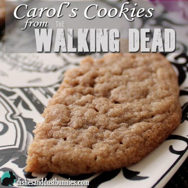 Make Carol's Cookies from The Walking Dead!  #CarolsCookies