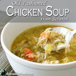 Old Fashioned Chicken Soup from Scratch