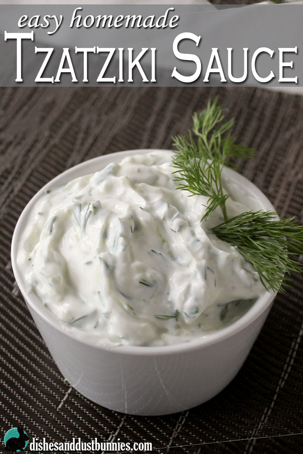 Easy Homemade Tzatziki Sauce