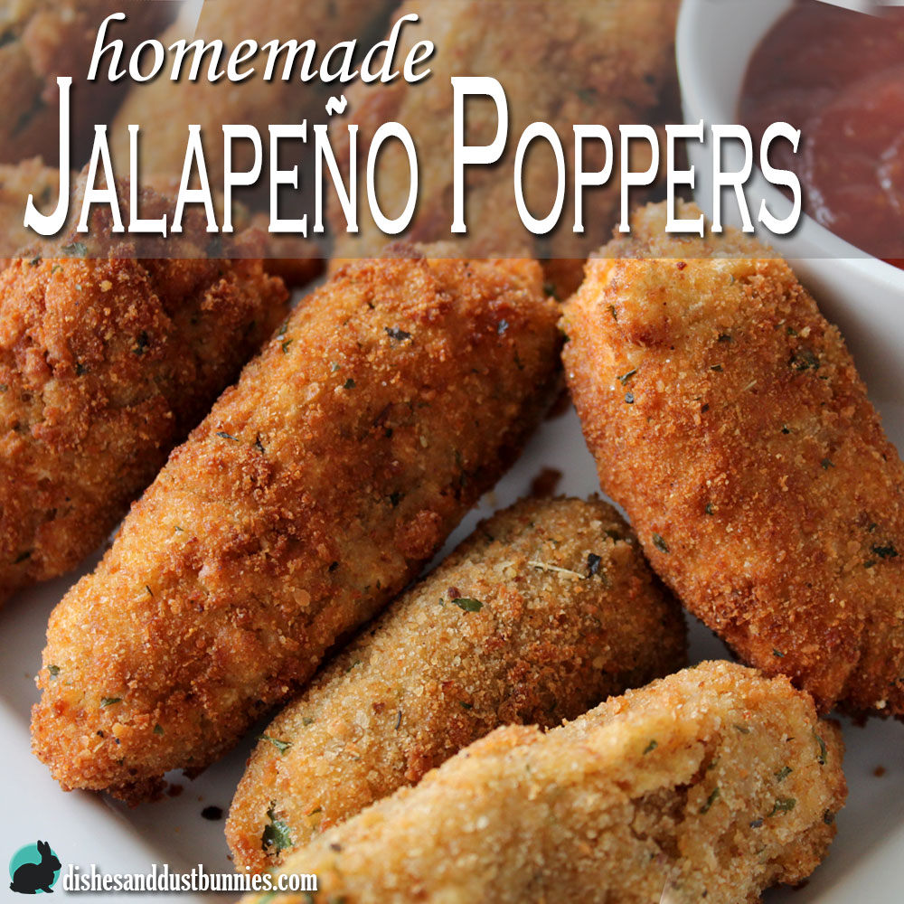 Homemade Jalapeno Poppers from Dishes