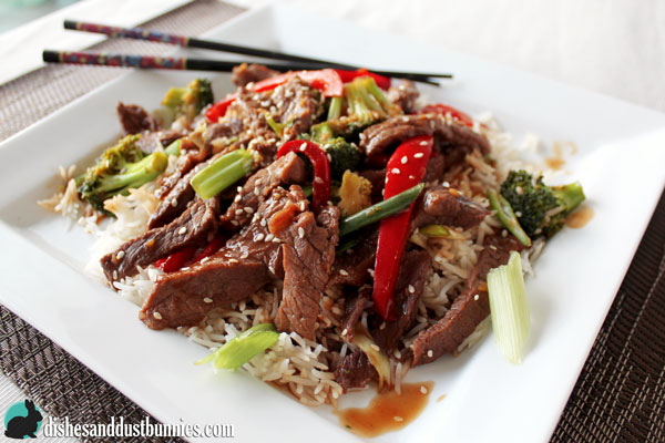 Vegetable Beef Stir Fry