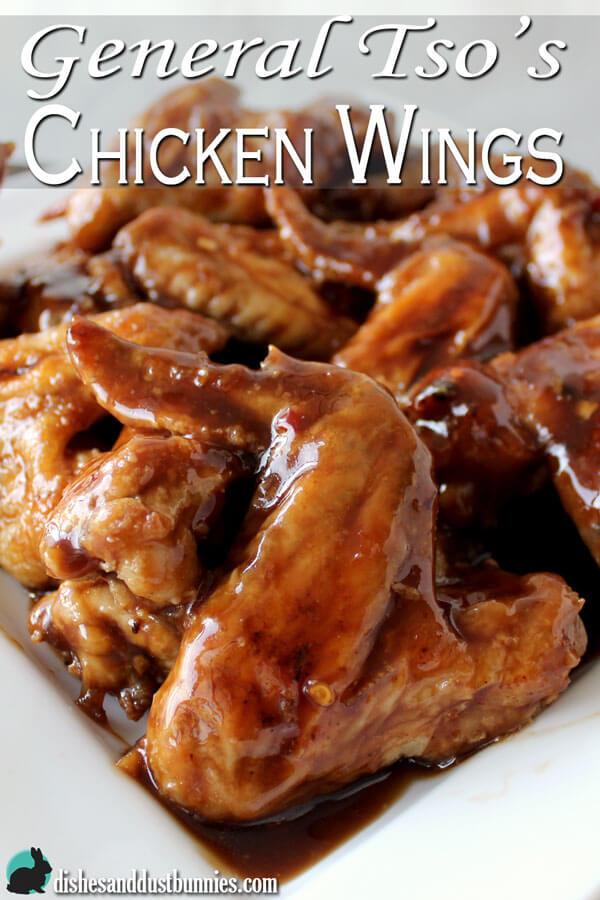 General Tso's Chicken Wings