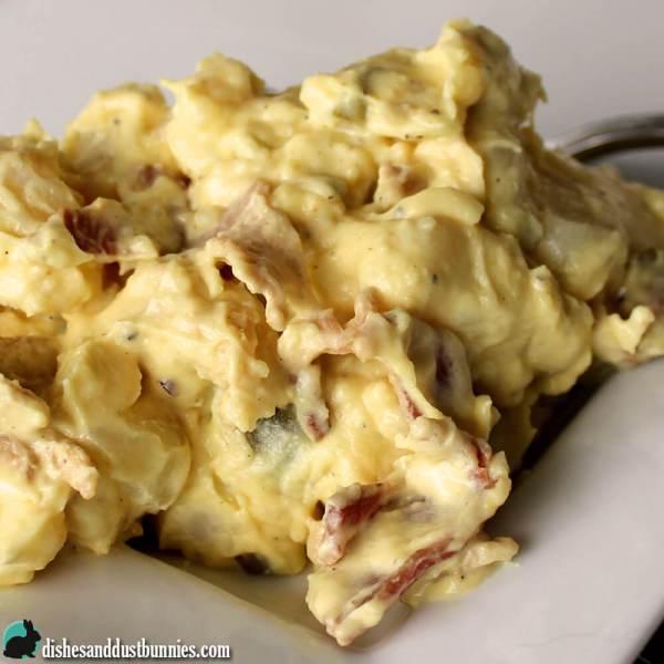 Creamy Potato Salad with Bacon