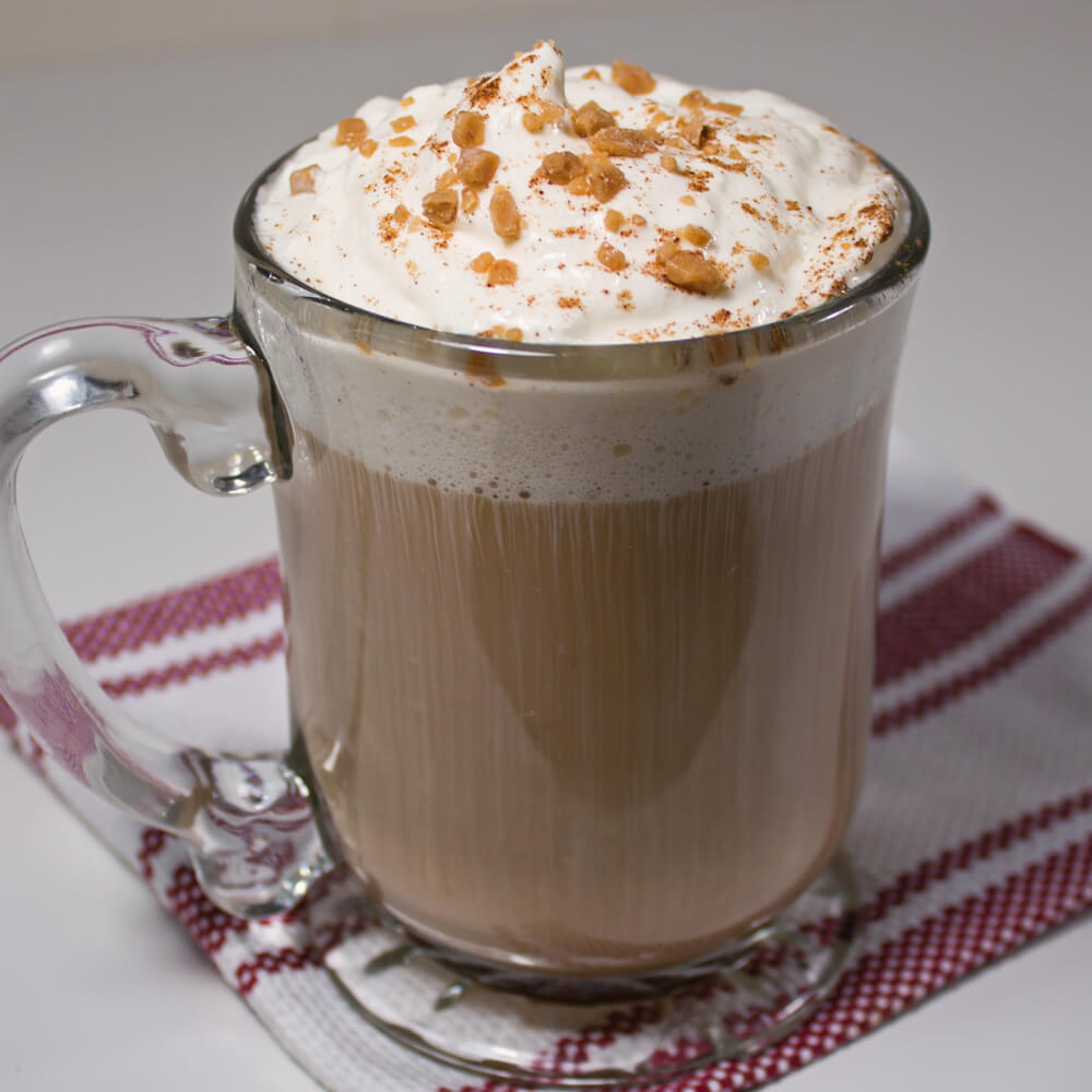 Instant Pumpkin Spice Latte Mix from Dishes & Dust Bunnies