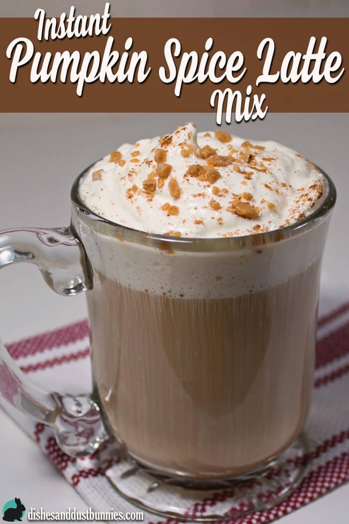 Instant Pumpkin Spice Latte Mix