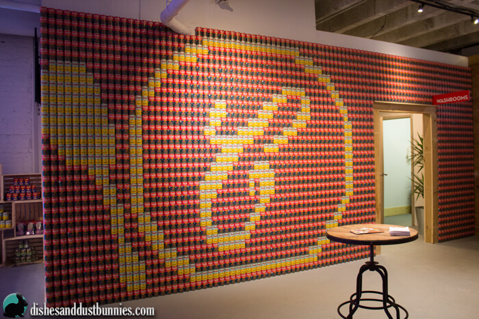 That's a wall of soup right there! Pretty cool!