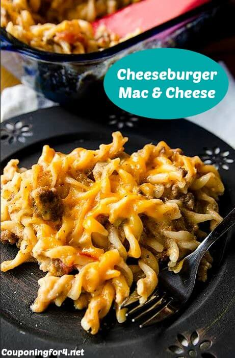 Cheeseburger Mac & Cheese from Couponing For 4