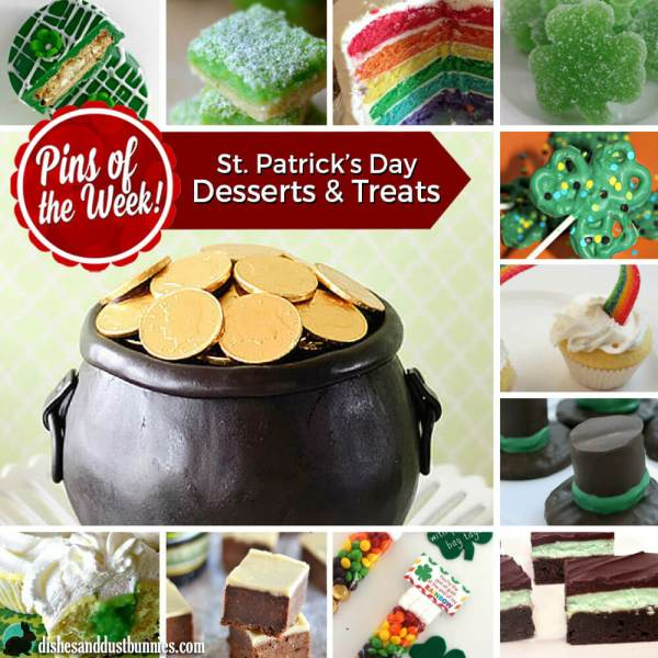 St. Patrick's Day Desserts and Treats – Pins of the Week!