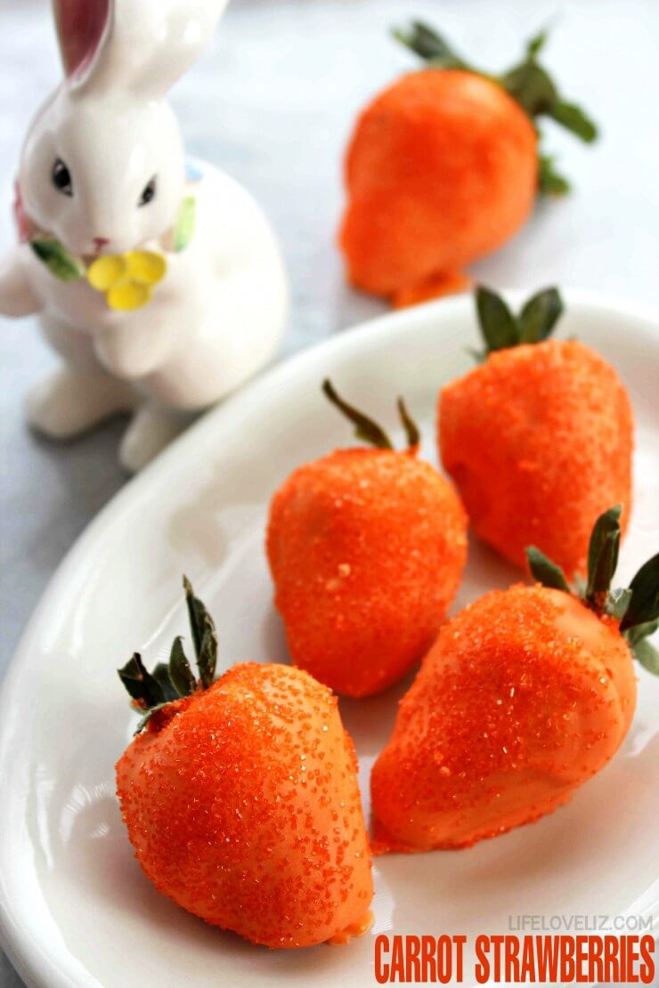 Carrot Strawberries from Life Love Liz