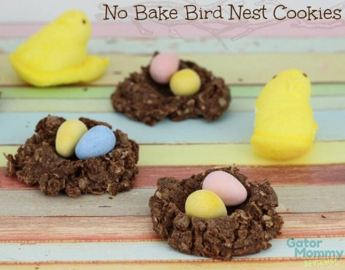 No Bake Bird Nest Cookies from Sugar, Spice and Family Life