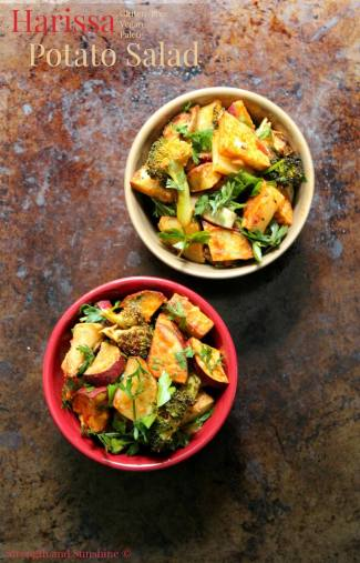 Harissa Potato Salad from Strength & Sunshine