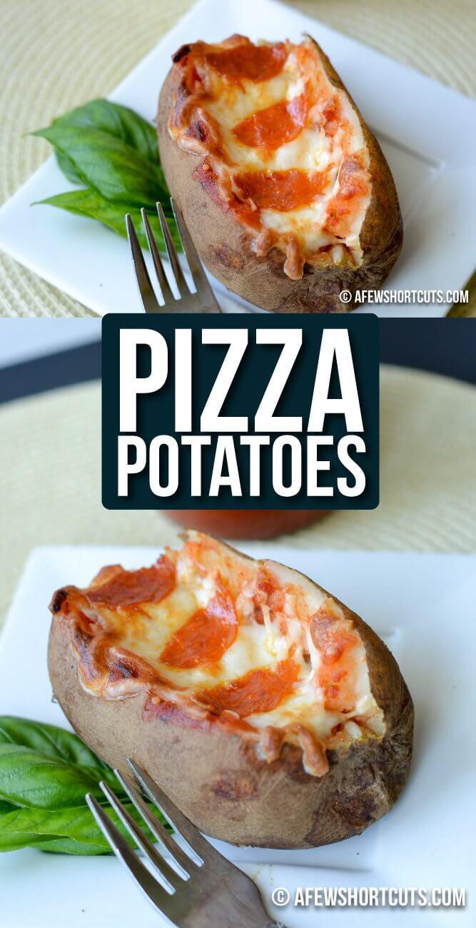 Pizza Potatoes from A Few Short Cuts