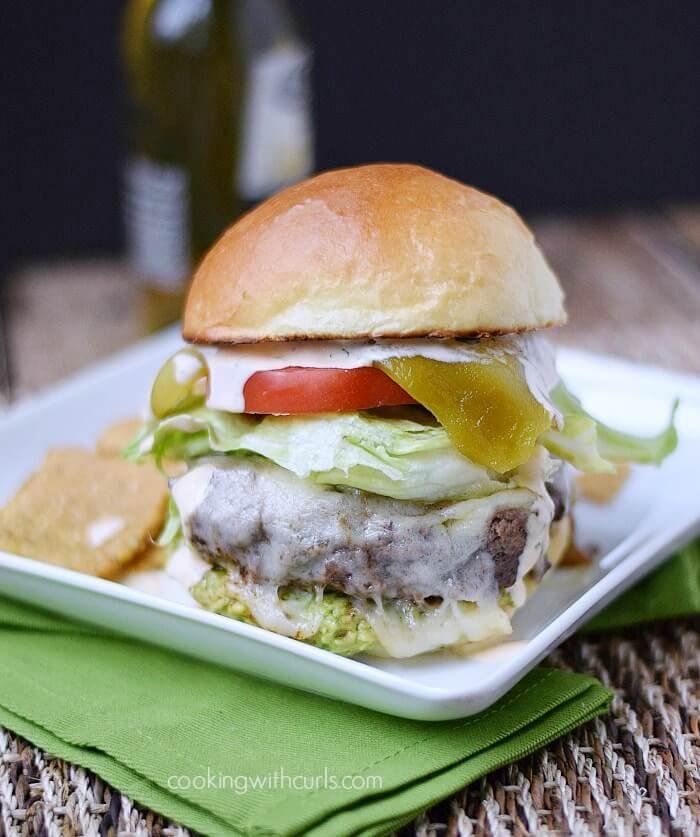 Santa Fe Burgers From Cooking with Curls