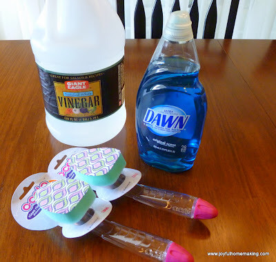 Simple Shower and Tub Cleaner from Joyful Homemaking
