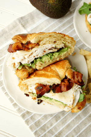 California Club Sandwich from The Baking Fairy