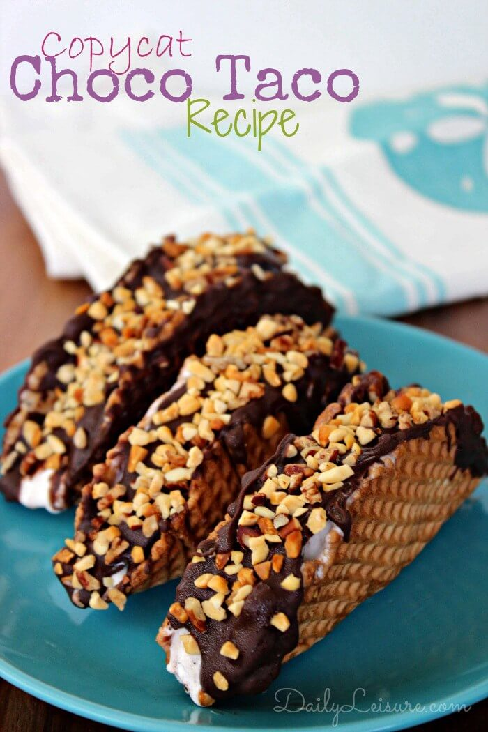 Copycat Choco Taco Recipe from Daily Leisure