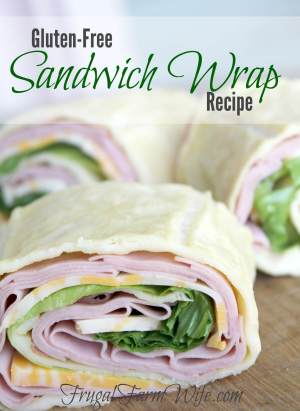 Gluten-Free Sandwich Wrap Bread from Frugal Farm Wife