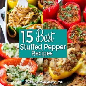 15 Best Stuffed Pepper Recipes Roundup from dishesanddustbunnies.com
