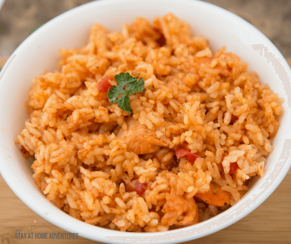 Instant Pot Spanish Rice with Chicken / Arroz Junto con Pollo from My Stay at Home Adventures