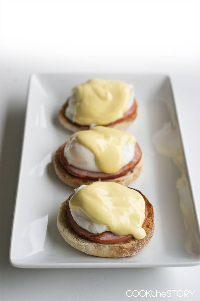 Easiest Blender Hollandaise Sauce from Cook the Story