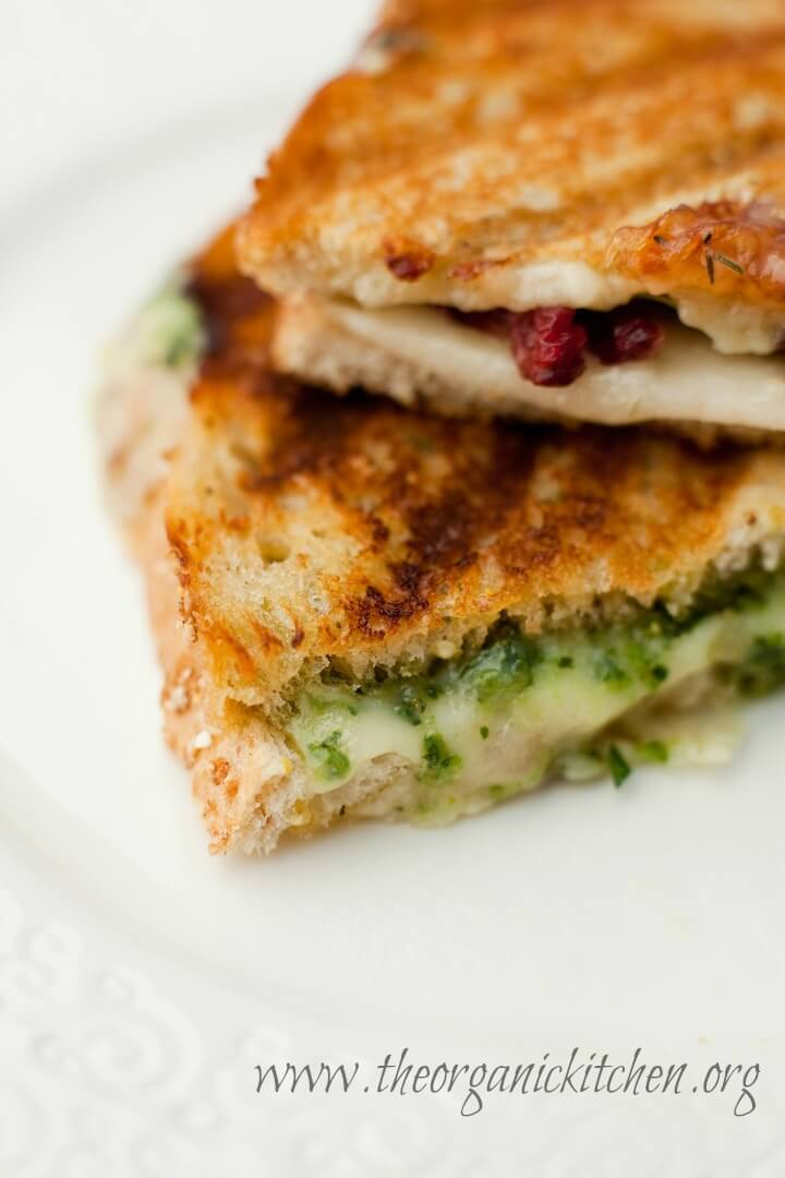 Gourmet Grilled Cheese Sandwiches from The Organic Kitchen