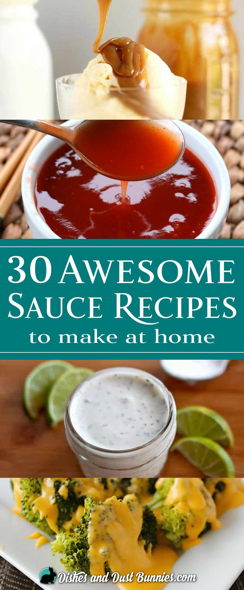 30 Awesome Sauce Recipes to Make at Home from dishesanddustbunnies.com
