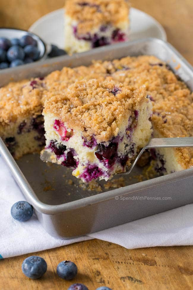Blueberry Buckle from Spend with Pennies