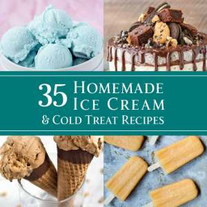 35 Homemade Ice Cream & Cold Treat Recipes