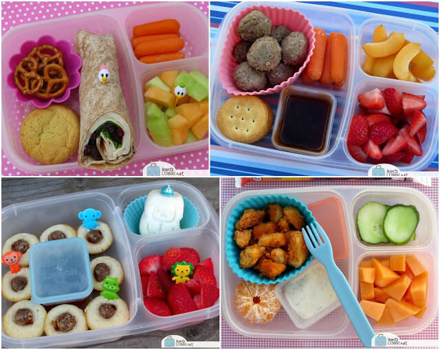 30 Lunch Ideas to Put in your Easy Lunch Boxes from BentoLunch