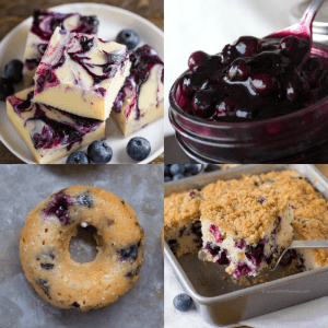 23 Best Blueberry Dessert Recipes - dishesanddustbunnies.com