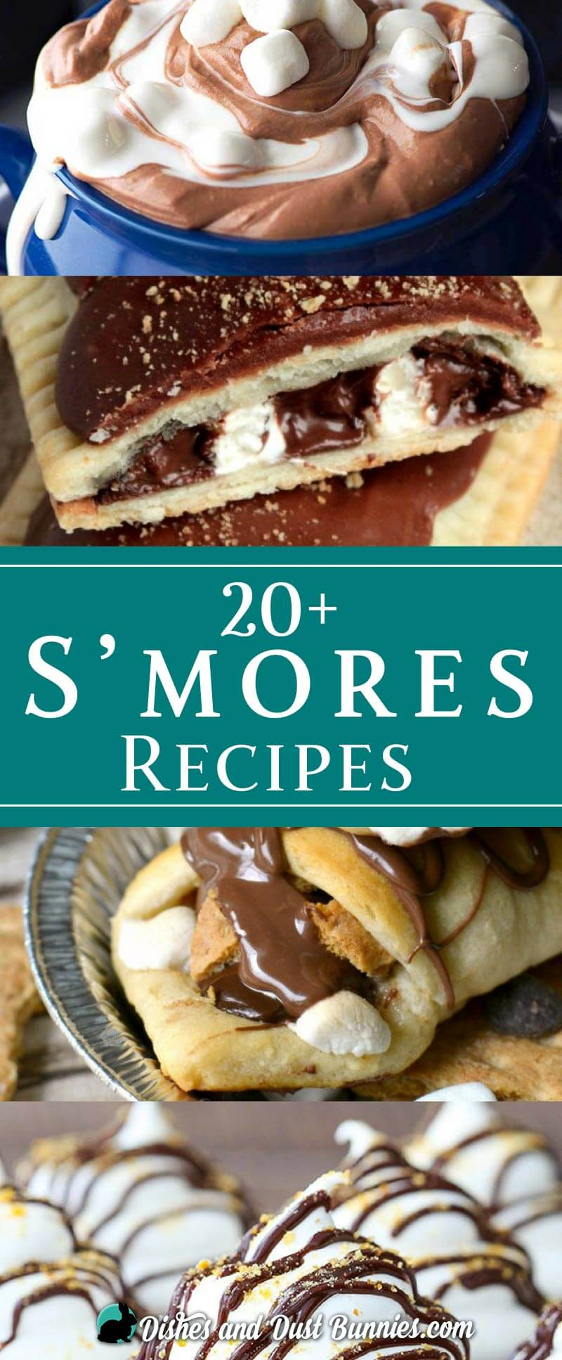 S'mores Recipes - dishesanddustbunnies.com