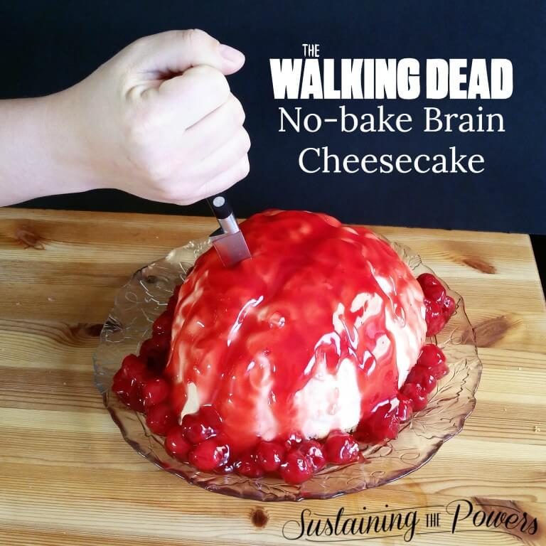 Walking Dead Brain Cheesecake from Sustaining the Powers