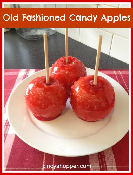 Old Fashioned Candy Apples from Cincy Shopper