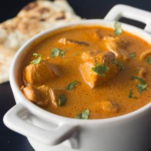 Instant Pot Indian Butter Chicken (with Slow Cooker Option) from dishesandustbunnies.com