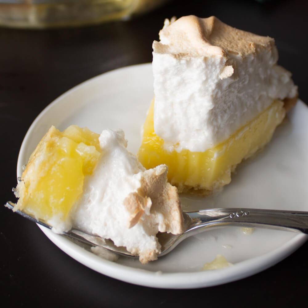 Classic Lemon Meringue Pie Recipe from Dishes & Dust Bunnies