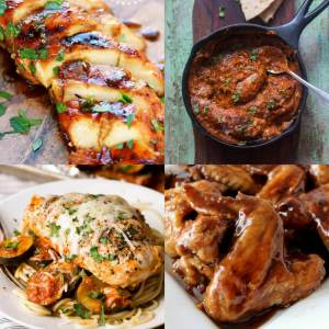 18 Scrumptious Chicken Recipes - dishesandustbunnies.com