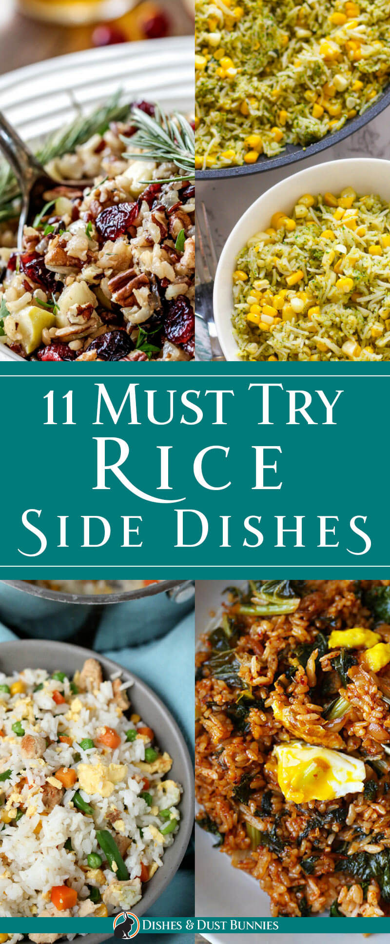 11 Must Try Rice Side Dishes - dishesanddustbunnies.com