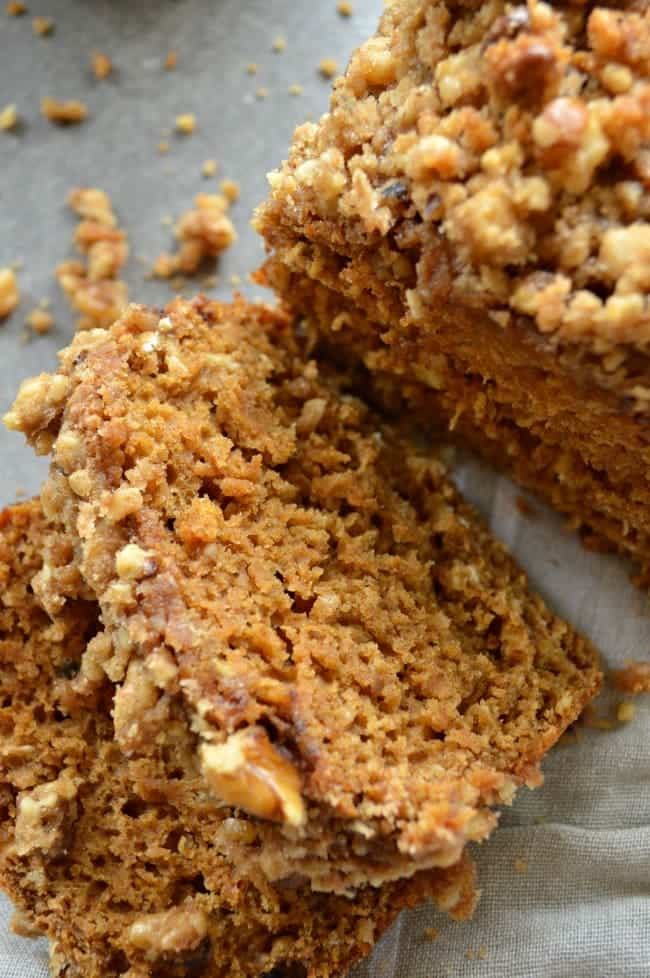 Healthy Sweet Potato Crunch Bread from Sugar Dish Me