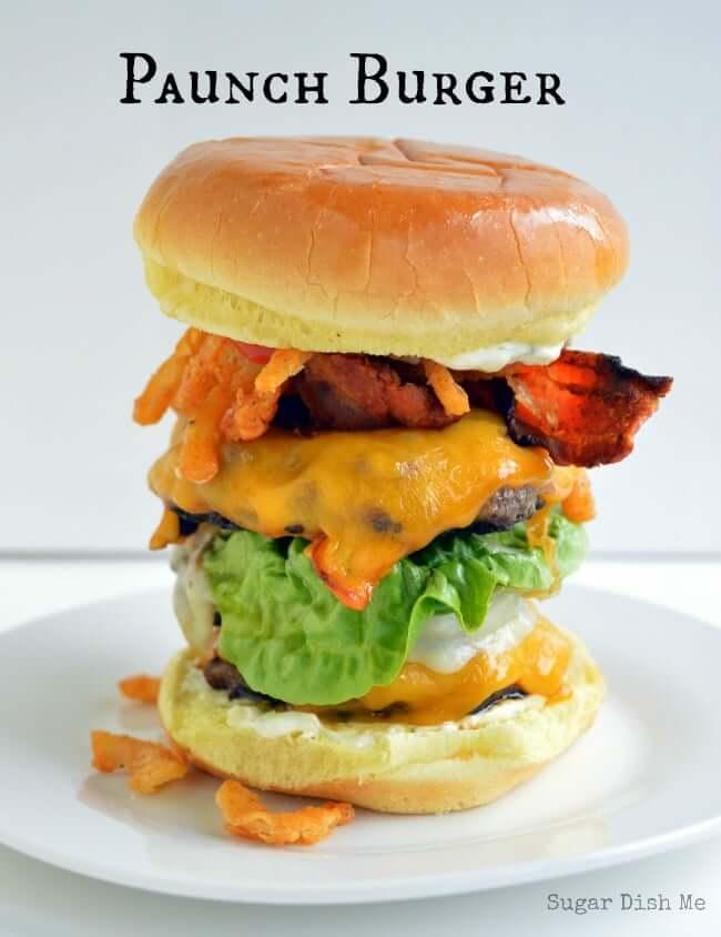 Paunch Burger from Sugar Dish Me