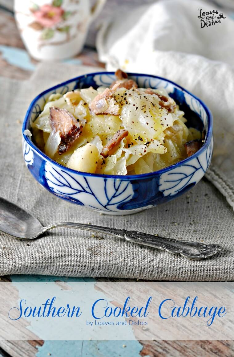 Southern Cooked Cabbage from Loaves and Dishes