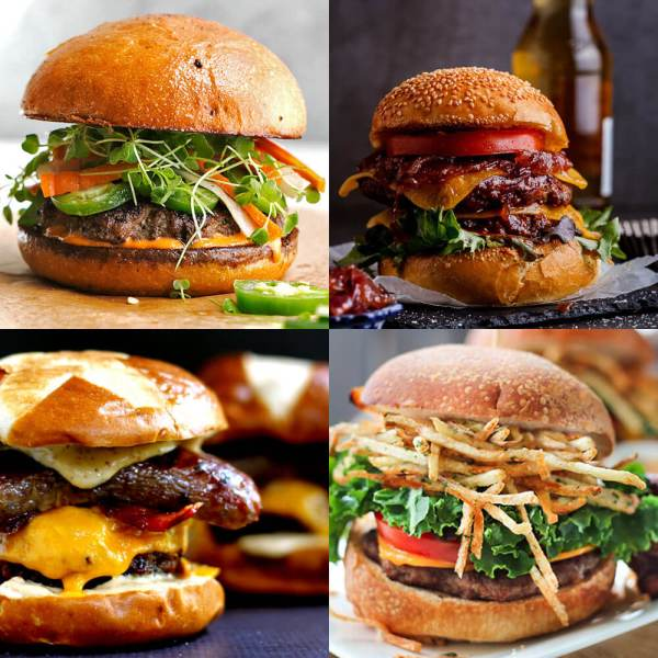 25 Mouth Watering Burger Recipes
