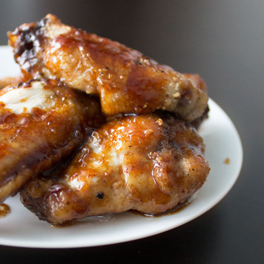 Root Beer Chicken Wings from Dishes & Dust Bunnies