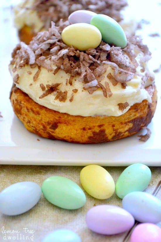 Easter Cinnamon Rolls from Lemon Tree Dwelling