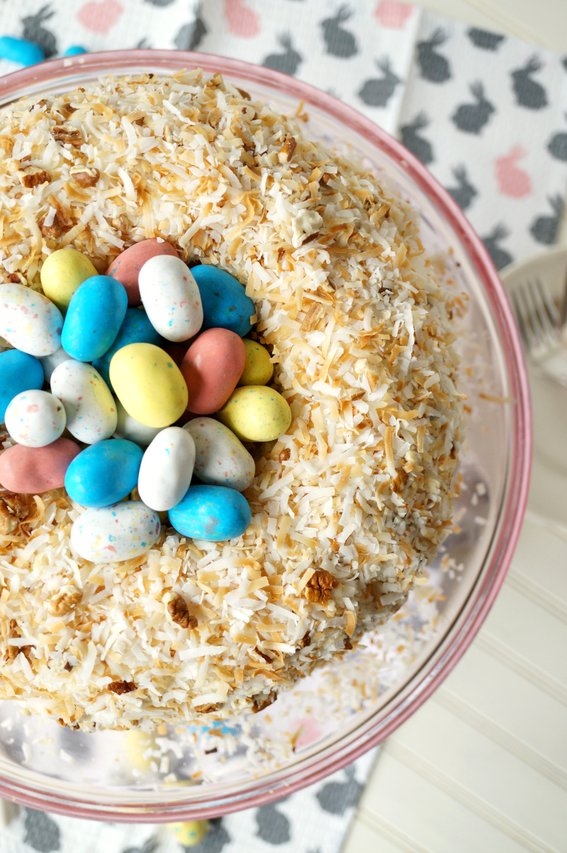 Easter Next Italian Cream Cake from The Baking Fairy