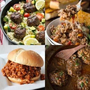 25+ Awesome Ground Beef Recipes - dishesanddustbunnies.com