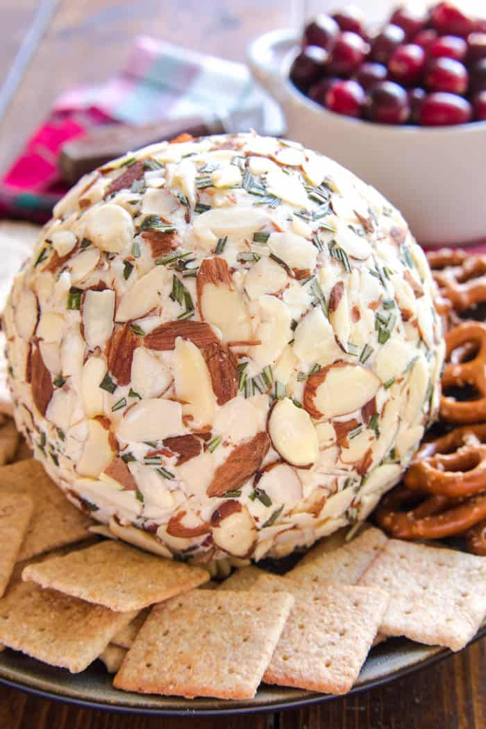Swiss Almond Cheese Ball from Lemon Tree Dwelling
