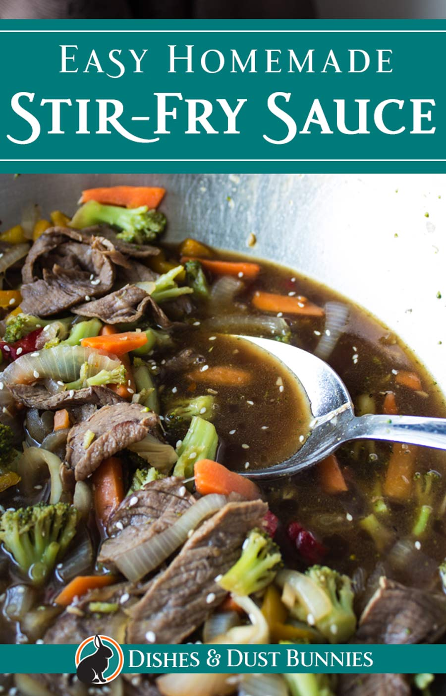 Easy Homemade Stir Fry Sauce via @mvdustbunnies
